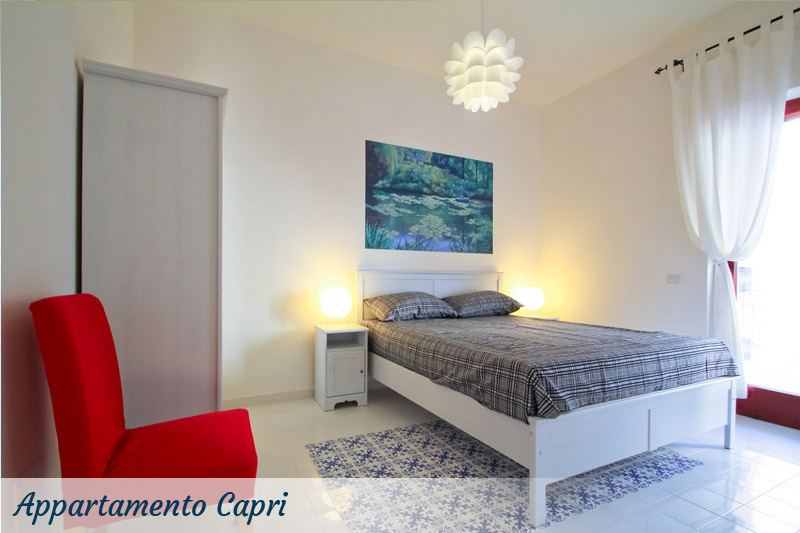 camera appartamento capri residence sorrento